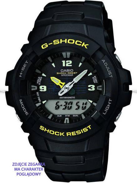 Pasek z tworzywa do zegarków Casio G-100, G-101, G-200, G-2110, G-2300 - 16 mm