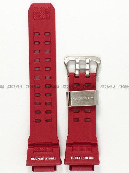 Pasek z tworzywa do zegarków Casio GW-9400RD-4 - 20 mm