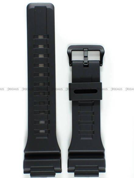 Pasek z tworzywa do zegarków Casio W-735, W736, AQ-S810W i AEQ-110 - Grafitowy - 18 mm