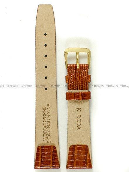 Pasek zaczepowy klejony skórzany do zegarka - K.Reda.3.18.3 - 18 mm