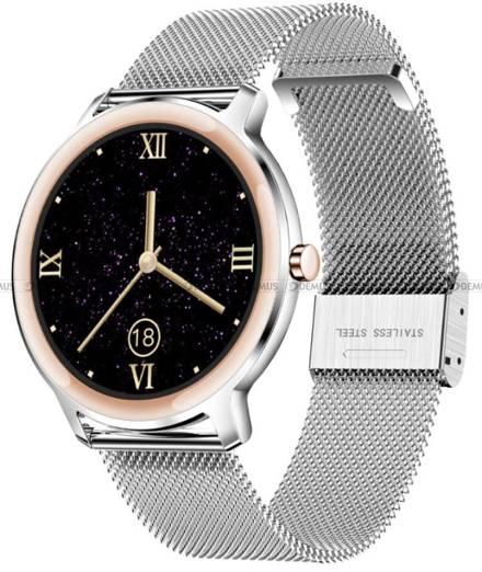 Smartwatch Damski Rubicon RNBE66 srebrny
