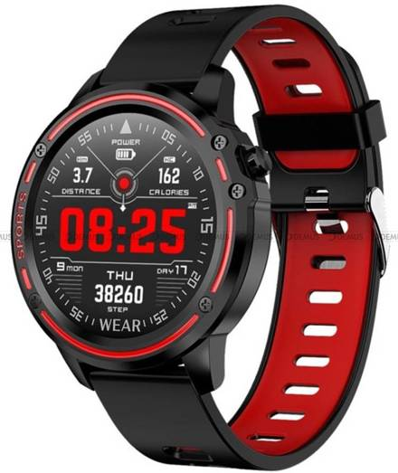 Smartwatch Pacific 14-2-Black-Red