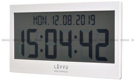 Zegar cyfrowy sterowany falą radiową LAVVU LCX0010