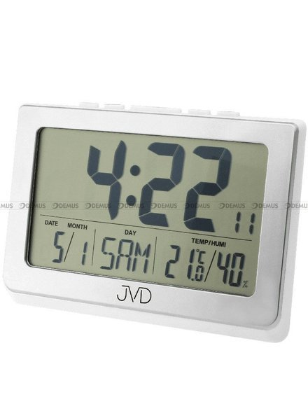 Zegar cyfrowy z termometrem i higrometrem JVD DH1708