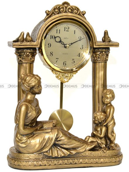 Zegar kominkowy figurka - Adler 80027G