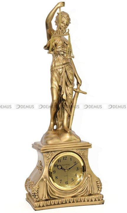 Zegar kominkowy figurka Temida Timeking TK5238