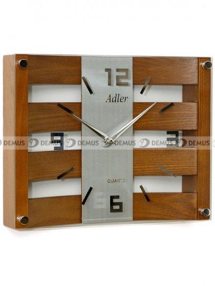 Zegar ścienny Adler 21113-OAK