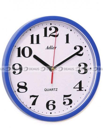 Zegar ścienny Adler 30019-DARKBLUE