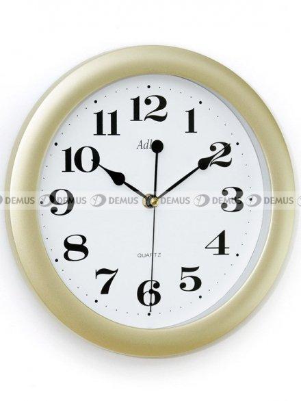 Zegar ścienny Adler 30021-Gold-PL-ZŁ