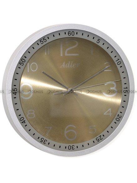 Zegar ścienny Adler 30148-GREY
