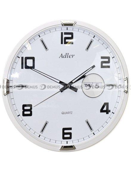 Zegar ścienny Adler PW184-1731-Biały
