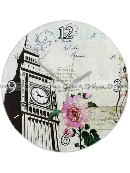 Zegar ścienny Demus S144072 Londyn Big Ben