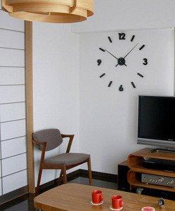 Zegar ścienny ExitoDesign Extender Black HS-668B