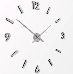 Zegar ścienny ExitoDesign Extender Silver HS-668S