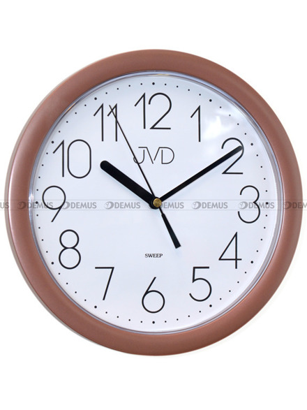 Zegar ścienny JVD HP612.16 z tworzywa okrągły