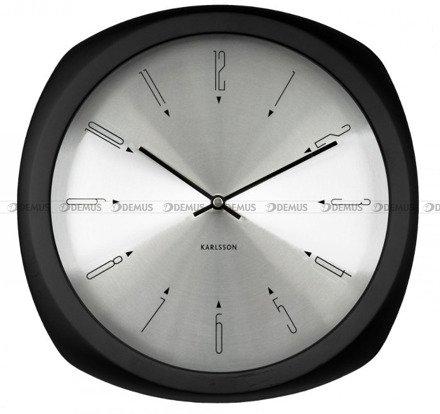Zegar ścienny Karlsson Aesthetic Black KA5626BK