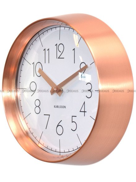 Zegar ścienny Karlsson Convex White KA5580WH