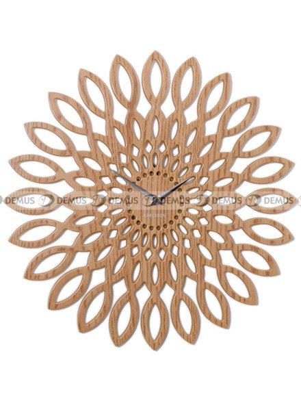 Zegar ścienny Karlsson Mini Sunflower Wood KA5493
