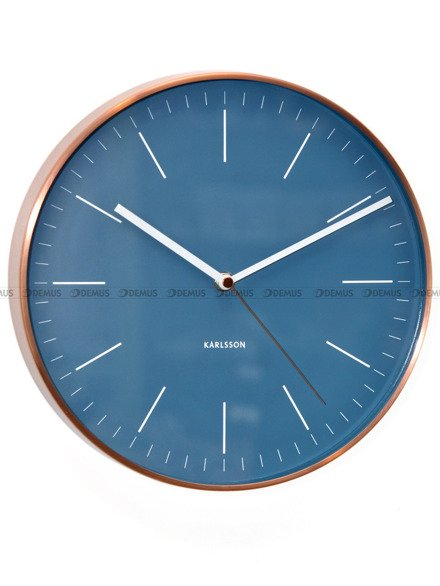 Zegar ścienny Karlsson Minimal Jeans Blue KA5507BL