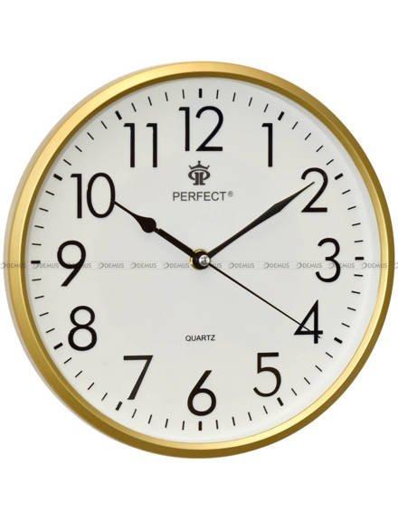 Zegar ścienny Perfect FX-5742 Złoty - 26 cm