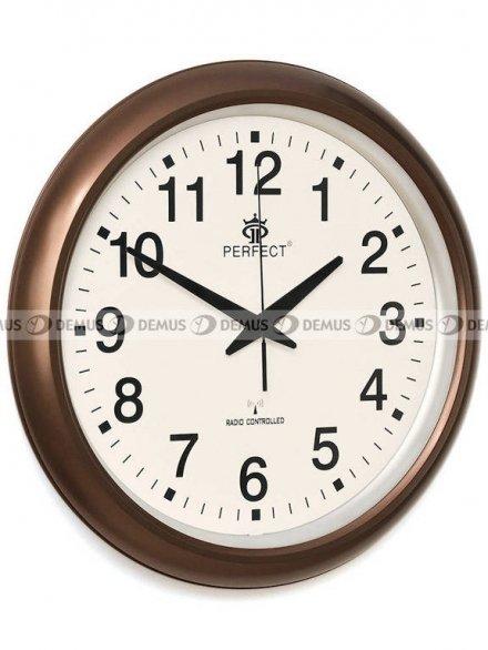 Zegar ścienny Perfect HT972D1-PL-BR