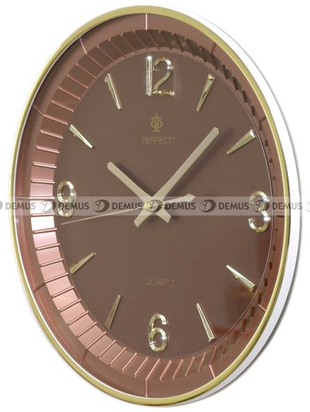 Zegar ścienny Perfect PW151-1700-BR