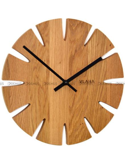 Zegar ścienny Vlaha VCT1015 - Z litego drewna dębowego