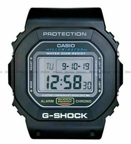 Zegar ścienny cyfrowy Casio DW5600 - 28x32 cm