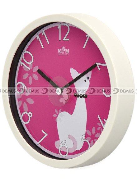 Zegar ścienny dla dzieci MPM E01.3089.0020.SW