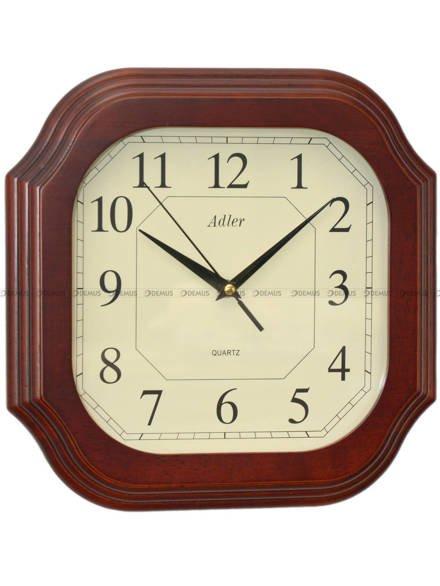 Zegar ścienny drewniany Adler 21005-CH