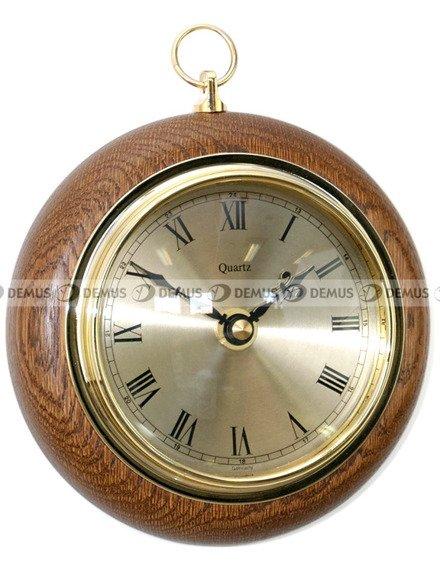 Zegar ścienny drewniany TFA 140-03-CD