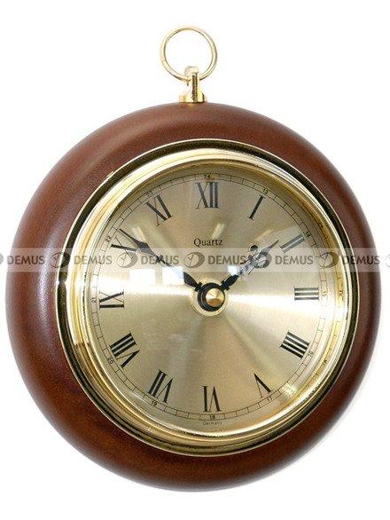 Zegar ścienny drewniany TFA 140-09-BWA