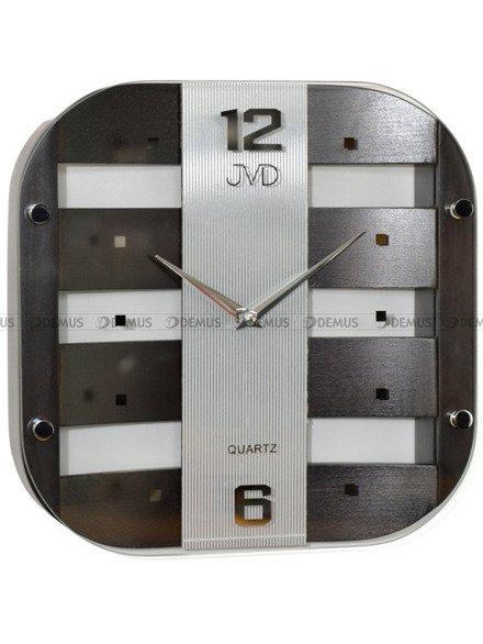 Zegar ścienny szklano-drewniany N29112.23