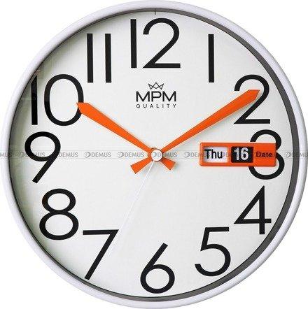 Zegar ścienny z datownikiem MPM E01.3852.00