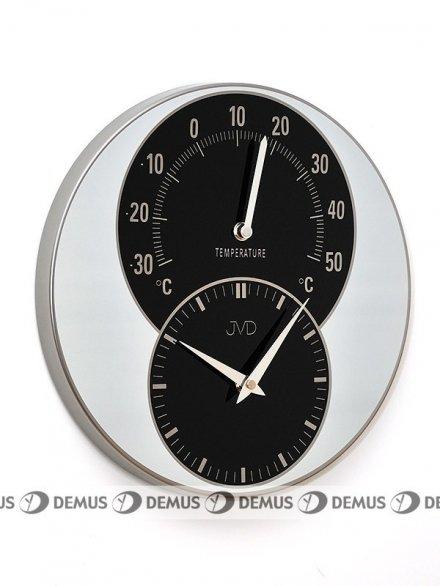 Zegar ścienny z termometrem JVD HW35.2