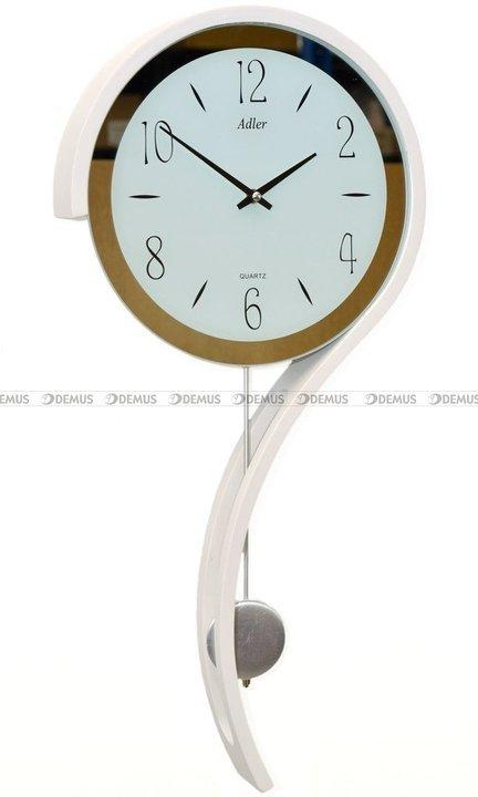 Zegar wiszący kwarcowy Adler 20216-WHITE