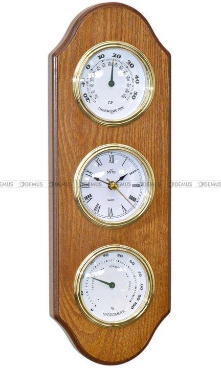 Zegar z termometrem i higrometrem MPM E06.3894.50