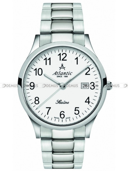 Zegarek Atlantic Sealine 62346.41.13 na stalowej bransolecie męski