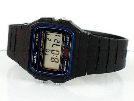 Zegarek Casio F 91W 1YER