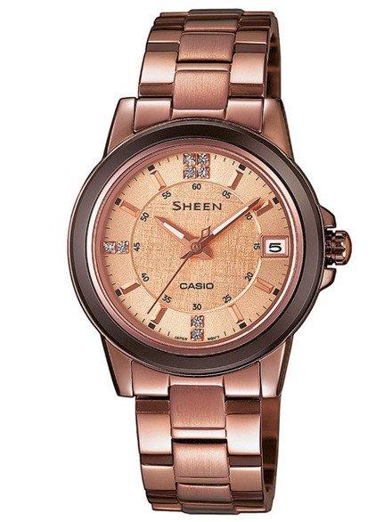 Zegarek Casio Sheen SHE 4512BR 9AUER