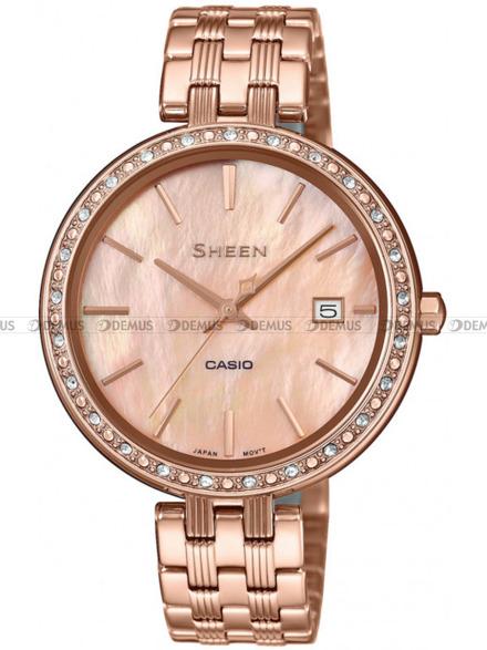 Zegarek Damski Casio Sheen SHE 4052PG 4AUEF