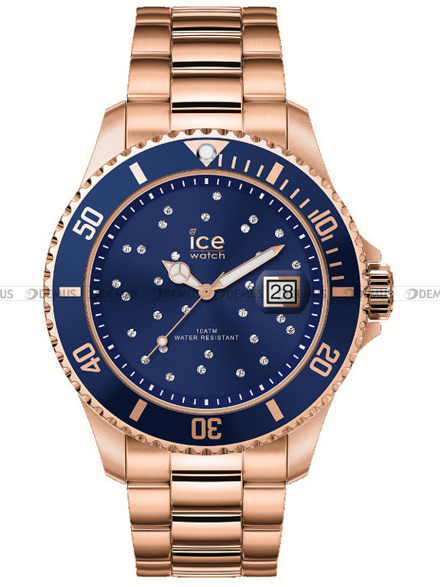 Zegarek Damski Ice-Watch - ICE Steel - Blue cosmos 016774 M