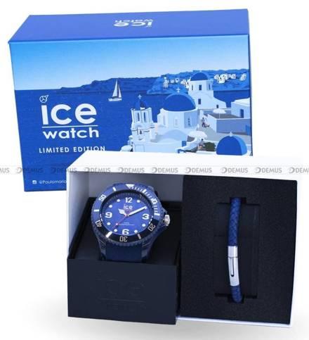 Zegarek Ice-Watch - Ice Sixty Nine Dark Blue 018498 L - Z bransoletką w zestawie - Limitowana edycja