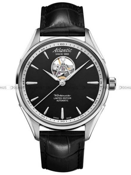 Zegarek Męski Atlantic Worldmaster Open Heart 52780.41.61 - Limitowana Edycja