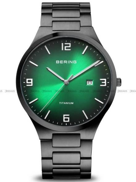 Zegarek Męski Bering Titanium 15240-728