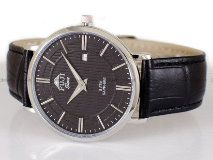 Zegarek Męski FujiTime M6106Q-Silver-Black