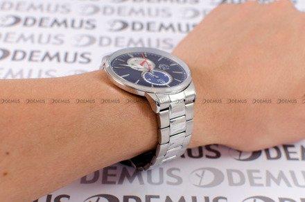 Zegarek Męski FujiTime M7108QS-Blue-Silver