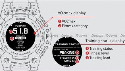 Zegarek Męski G-SHOCK G-SQUAD Heart Rate Monitor Bluetooth GBD H1000 4ER