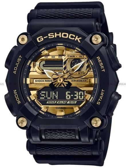 Zegarek Męski G-SHOCK GARISH SERIES GA 900AG 1AER - Limitowana Edycja