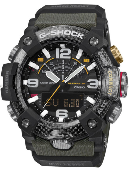Zegarek Męski G-SHOCK MUDMASTER Bluetooth GG B100 1A3ER